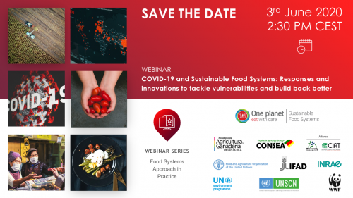 WEBIAR on COVID-19 and sustainable food systems