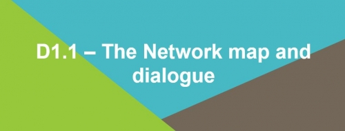 D1.1 – The Network map and dialogue