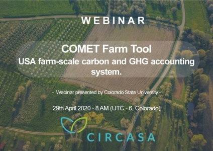 [WEBINAR] - COMET-Farm tool - 29/04/2020