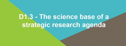 D1.3 - The science base of a strategic research agenda - Executive Summary