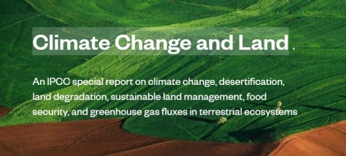 IPCC special report on Climate Change and Land